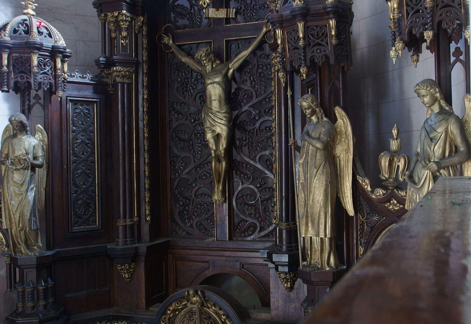 Kościół w Kosienicach, ołtarz, fot. Nikodem Bar